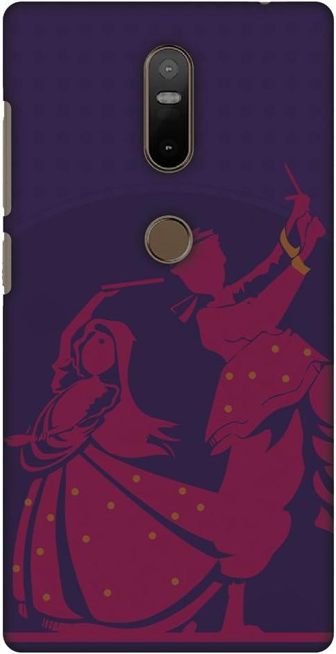 AMZER Slim Handcrafted Designer Printed Hard Shell Case Back Cover For Lenovo Phab 2 Plus - Dandiya Beats