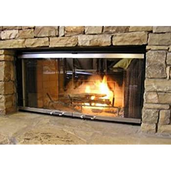 Amazon 42 Fireplace Glass Door Set To Fit Majestic Unit Home