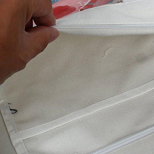sourcingmap Wassermelone Druck Reißverschluss Schultertasche Schultasche Snacks Buch Halter Tasche