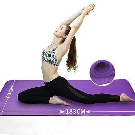Alloeliey - Esterilla de Yoga Multifuncional, para ...