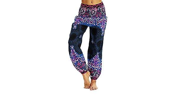 Cintura Alta de Yoga Pantalones, YpingLonk Suelto Elásticos ...