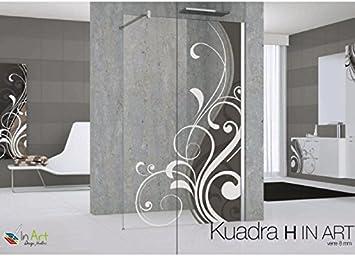 Kuadra H in Art: mampara de ducha 8 mm Novellini 70 A 140 cm: Amazon.es: Bricolaje y herramientas