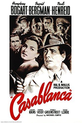Casablanca Poster 24 x 36in ()