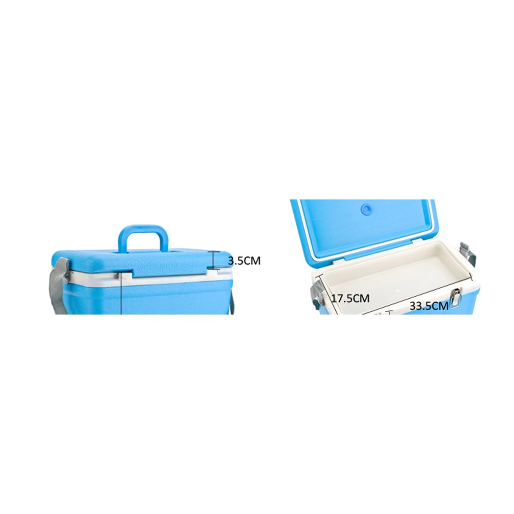 MagiDeal Ice Box Cooler Model 12 litre Lightweight Box for Camping Outdoor Picnic by MagiDeal (Image #3)