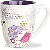 Mark My Words 50th Birthday Mug, 4-3/4-Inch, 20-Ounce Capacity