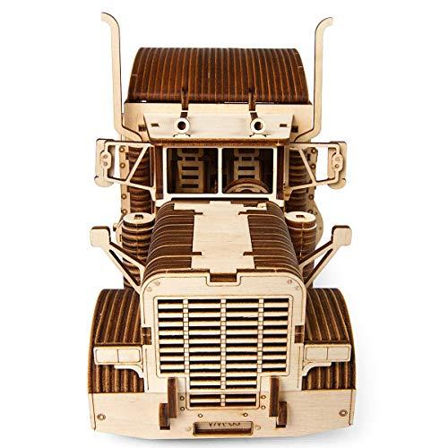S.T.E.A.M. Line Toys UGears Models 3-D Wooden Puzzle - Mechanical Heavy Boy Mac Truck VM-03