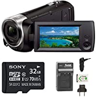 Sony HD Video Recording HDRCX440 Handycam Camcorder (Camcorder w/ Accessory Bundle)