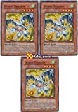 Debris Dragon x 3 - DP09-EN004 YuGiOh 5D's Duelist Pack Yusei 2 Single Card C...