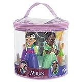 Disney Parks Princess Squeeze 5 Pc. Tub Bath Pool Toys Rapunzel Mulan Jasmine Tiana Tinkerbell