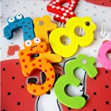 15 Pcs/Set Cute Number Baby Kids Children Lovely Wooden Alphabet Refrigerator Fridge Magnets Stick Figure Early Learning Toys