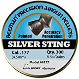 Beeman Silver Sting .177 Cal, 8.64 Grains, Pointed (300 Count)