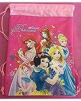 Disney Sweet Princess Hot Pink Drawstring Bag
