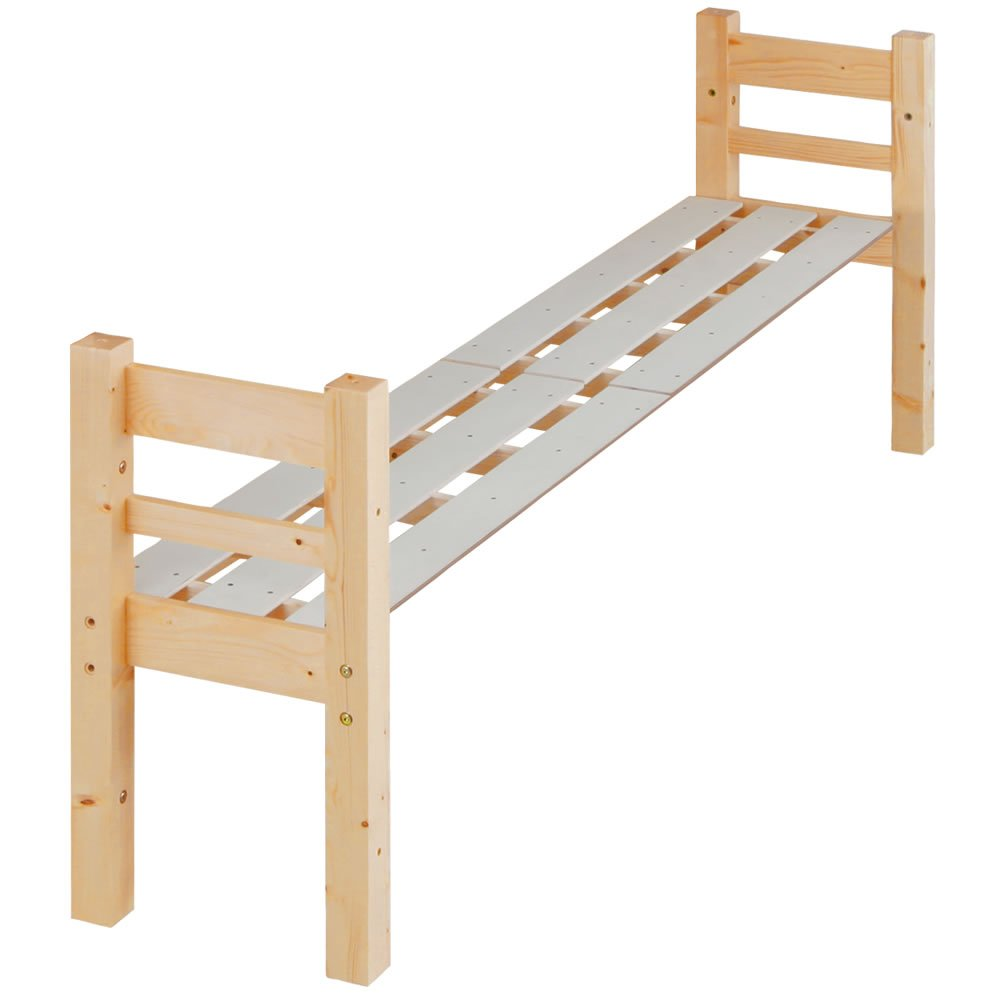 北欧パイン すのこベッド エキストラベッド[オプション品] 木製ベッド/ナチュラル B01DVCOGKI ナチュラル()