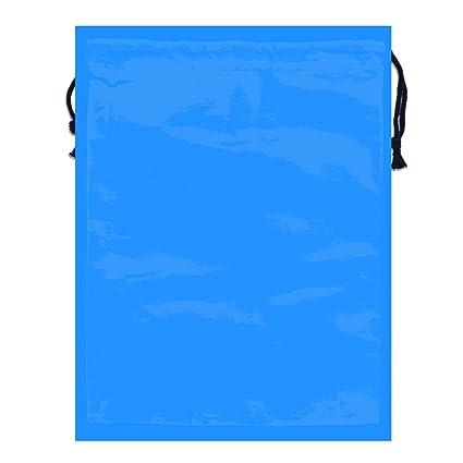 c2d21ed794fa Amazon.com: MOANDJI Dodger Blue Solid Color Double Sided Print ...