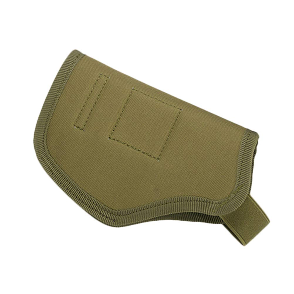 Vosarea Funda Protectora de Pistola Bolsa para Pistola Funda de Armas de Caza Verde del ej/ército