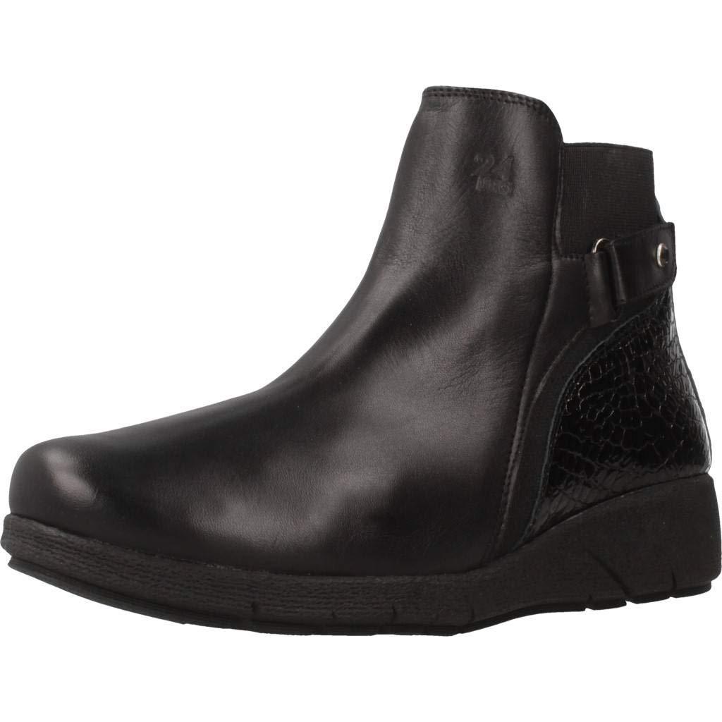 24 HORAS Stiefelleten Stiefel Stiefel Stiefel Damen, Farbe Schwarz, Marke, Modell Stiefelleten Stiefel Damen 23867 Schwarz 7d947b