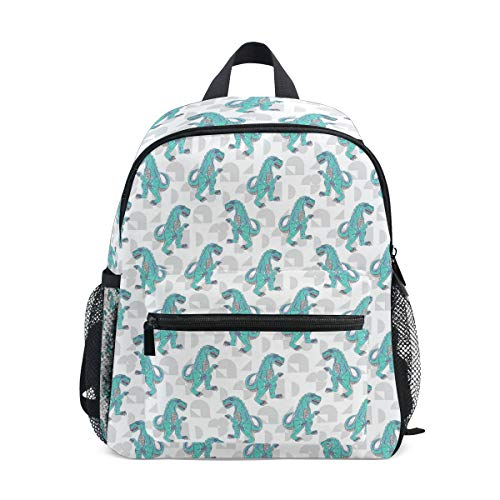 School Children's backpack Perfect for Preschool, Daycare, and Day Trips Teen Machine Dinosaur -