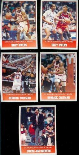 1990-pepsi-burger-king-syracuse-basketball-cards-complete-team-set-15-cards-including-derrick-colema