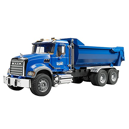 Bruder Mack Granite Halfpipe Dump Truck for sale  Delivered anywhere in Canada