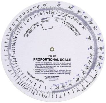 Westcott 5 Proportional Scale PS-69