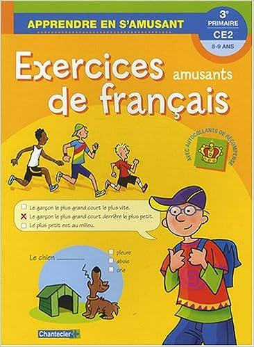 En ligne Exercices amusants de français CE2 pdf ebook