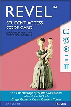 REVEL for The Heritage of World Civilizations, Volume 2 --  Access Card (10th Edition)