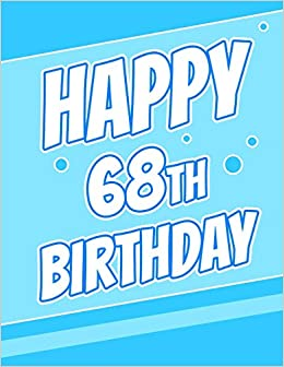 A Birthday Card Beautiful Blue Password Journal Or Notebook Record Email Address Usernames Passwords Security Grandpa Large Print Book