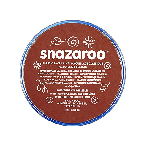 Snazaroo Classic Face Paint Brown