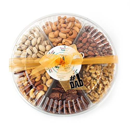 Oh! Nuts Freshly Roasted Nut Gift Tray 6-Section