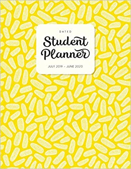 Dated Student Planner July 2019 - June 2020: High School or