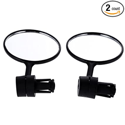 Cycling Bike Bicycle Rear View Mirror Handlebar Flexible Safety Replacement Part