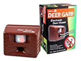 Bird-X Deer Gard Ultrasonic Motion-Activated Deer Repeller, Covers 4,000 sq. ft.