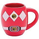 Mighty Morphin Power Rangers Movie TV 18 Ounce Ceramic Oval Coffee Cup Mug