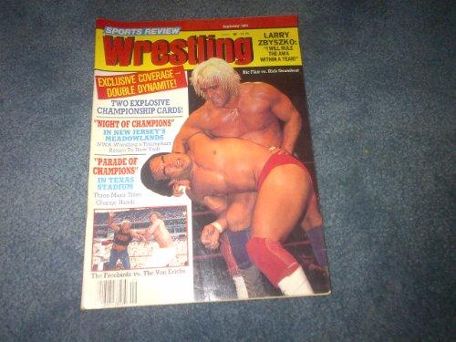 Sports Review Wrestling September 1984 WWE WWF WCW TNA ECW NWO AWA