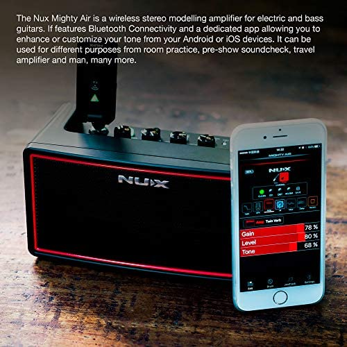 Wireless Stereo Modelling Amplifier with Bluetooth NUX Mighty Air