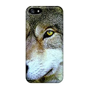 High Grade Saraumes Flexible Tpu Case For Iphone 5/5s - Intelligent Predator