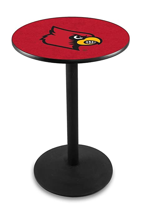 "Holland Bar Stool L214B University Louisville Officially Licensed Pub Table,  28"" x 36"" - Amazon.com : Holland Bar Stool L214B University Of Louisville"