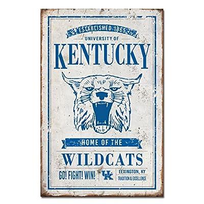 University of Kentucky Vintage Tin Sign