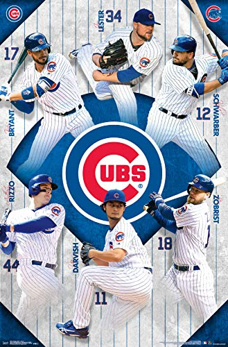 Trends International Chicago Cubs - Team Wall Poster, 22.375