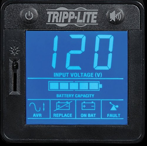 037332124999 - Tripp Lite 1000VA Smart UPS Back Up, 500W Tower, LCD, AVR, USB, Tel & Coax Protection (SMART1000LCD) carousel main 3
