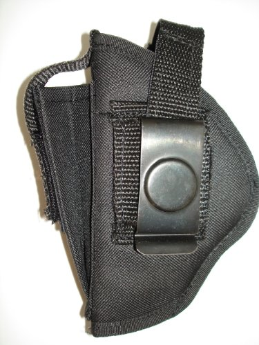 """Usa Made Deluxe Belt & Clip-on Side Holster for S&W M&P SHIELD 9 9MM & 40 CAL 3.1"""""""