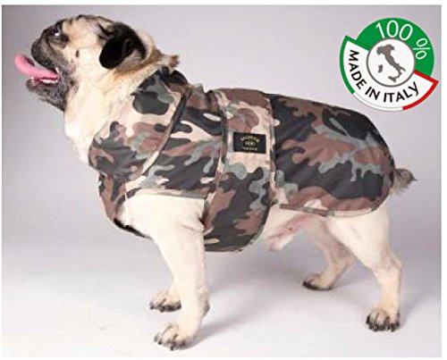 47 Raincoat Waterproof Mimetic for Dogs FRENCH BULDOG 100% Made in  (47)