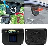 cooler ventilator - USA Premium Store Solar Power Car Window Fan Auto Ventilator Cooler Air Vent Vehicle Ventilation X