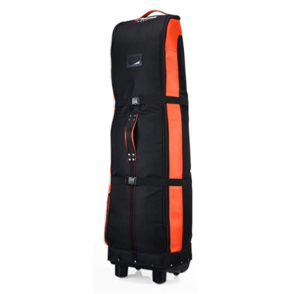 ゴルフエアバッグ肥厚航空機輸送航空大容量折りたたみ旅行バッグカバー B07PCRN6BY Orange Orange B07PCRN6BY, ワールドインフォメーション:b0531134 --- lagunaspadxb.com