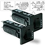 TE Connectivity W28-XQ1A-3 32V 3AMP 250V ~ 50/60Hz Circuit Breaker (Pack of 2)