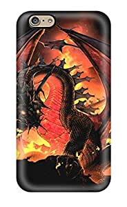 Cute Appearance Cover/tpu WMAgUce7188fJCEk The Great Death Wyrm Case For Iphone 6