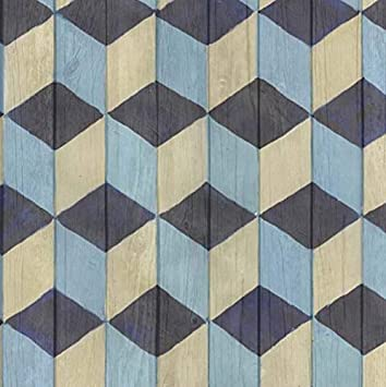 Klebefolie Möbelfolie Stack bunt geometrisch Dekorfolie 45 cm x 200 cm Folie