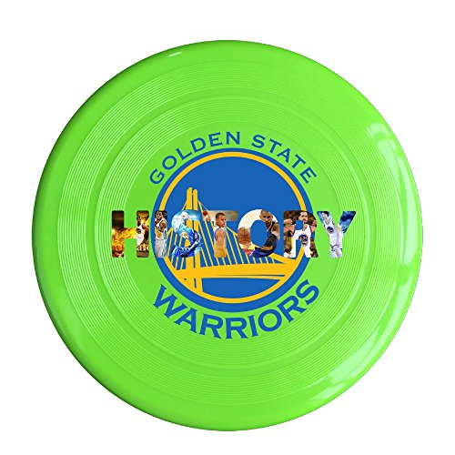 SYYFB Unisex Golden State City Baskteball Team Outdoor Game Frisbee Game Room KellyGreen