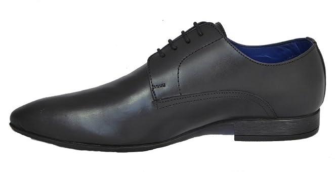 Route 21 Zapato Gibson con Cordones Hombre, Color Marrón, Talla 42.5
