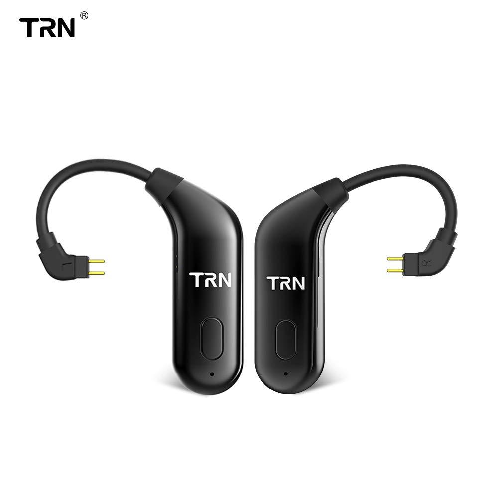 TRN BT20 Bluetooth V5.0 イヤーフック 0.75mm 2ピン コネクター イヤホン Bluetooth アダプター KZ ZS10 ZS5 ZS6 ZST ES3 ZSR TF10 TF15 SF3 SF5 UHP336 5PRO TRN V10 V20 V60 V80 IM1イヤホン用   B07LFZ18LR